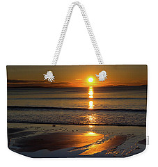 Ferry Beach Sunrise Weekender Tote Bag