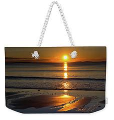 Ferry Beach Sunrise Weekender Tote Bag