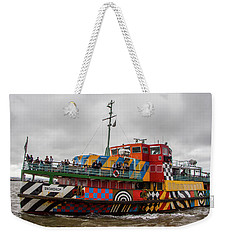 Ferry Cross The Mersey - Razzle Boat Snowdrop Weekender Tote Bag