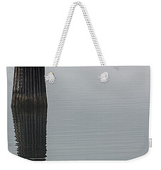 Ferry Hiding In The Fog Weekender Tote Bag