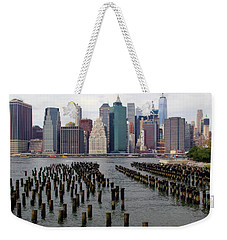 Ferry Hopping New York Weekender Tote Bag