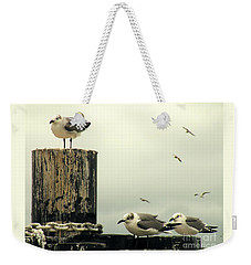 Ferry Hypnosis Weekender Tote Bag by Joe Jake Pratt