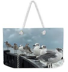 Ferry Passengers Weekender Tote Bag