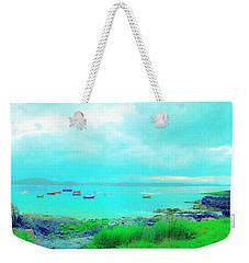 Ferry Wake Weekender Tote Bag