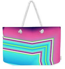 Weekender Tote Bag featuring the digital art Fertile by Ron Bissett