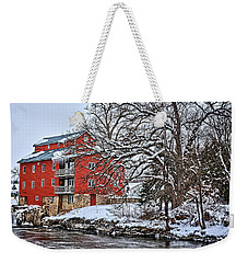 Fertile Winter Weekender Tote Bag