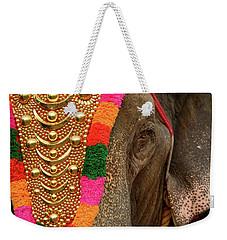 Festival Elephant Weekender Tote Bag