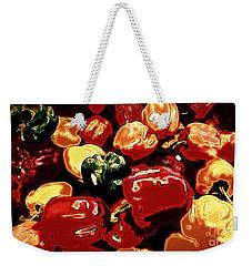 Festival Of Peppers Weekender Tote Bag