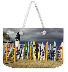 Festival Of The Crayons Weekender Tote Bag