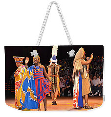 Festival Of The Lion King Weekender Tote Bag