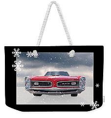 Festive Pontiac Gto Weekender Tote Bag
