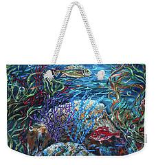 Festive Reef Weekender Tote Bag
