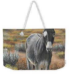 Weekender Tote Bag featuring the painting Festus by Kim Lockman