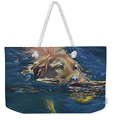 Fetching The Stick Weekender Tote Bag