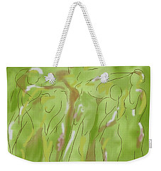 Few Figures Weekender Tote Bag by Mary Armstrong