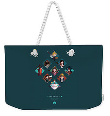 Ff Design Series Weekender Tote Bag