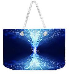 Fiber Optics And Circuit Board Weekender Tote Bag