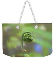 Fiddlehead Fern - Macro Weekender Tote Bag
