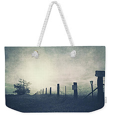 Field Beyond The Fence Weekender Tote Bag