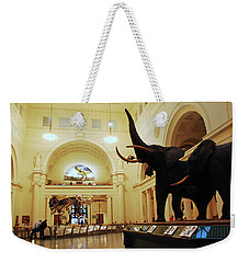 Weekender Tote Bag featuring the photograph Field Museum by James Kirkikis