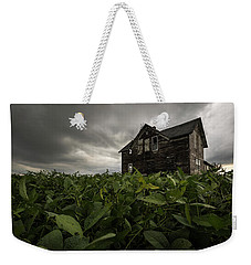 Field Of Beans/dreams Weekender Tote Bag by Aaron J Groen