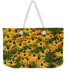 Field Of Black-eyed Susans Weekender Tote Bag