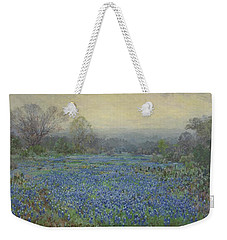 Field Of Bluebonnets Weekender Tote Bag