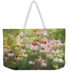 Field Of Coneflowers 5x6 Weekender Tote Bag