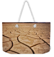 Field Of Cracks Weekender Tote Bag