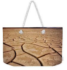 Field Of Cracks Weekender Tote Bag by Nicki Frates
