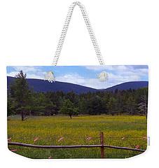 Field Of Dandelions Weekender Tote Bag