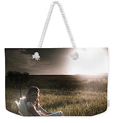 Weekender Tote Bag featuring the photograph Field Of Dreams by Jorgo Photography - Wall Art Gallery