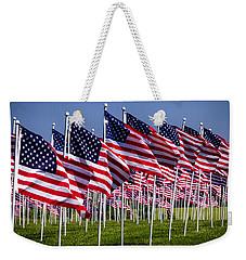 Field Of Flags For Heroes Weekender Tote Bag