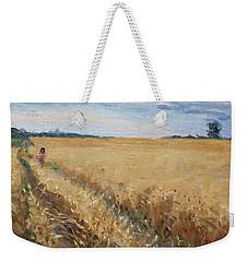 Field Of Grain In Georgetown On Weekender Tote Bag