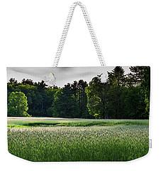 Field Of Green Weekender Tote Bag