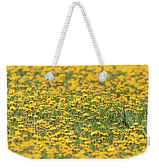 Field Of Lions Weekender Tote Bag by Richard Engelbrecht