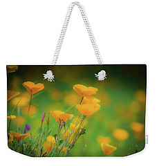 Field Of Poppies Weekender Tote Bag