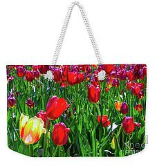 Tulip Garden Weekender Tote Bag