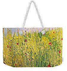 Field Of Wild Flowers Weekender Tote Bag