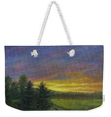 Field Road Weekender Tote Bag