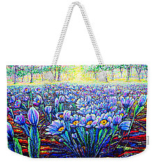Field.flowers Weekender Tote Bag by Viktor Lazarev