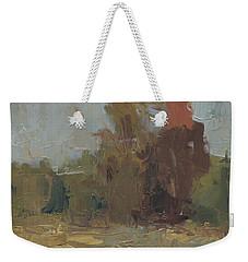 Fields Edge In Autumn Weekender Tote Bag