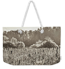 Fields Of Bulrush Weekender Tote Bag
