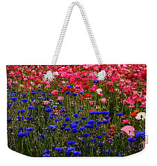 Fields Of Flowers Weekender Tote Bag