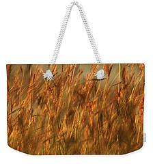 Fields Of Golden Grains Weekender Tote Bag