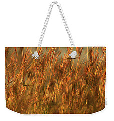 Fields Of Golden Grains Weekender Tote Bag