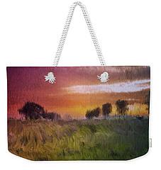 Fields Of Green Weekender Tote Bag