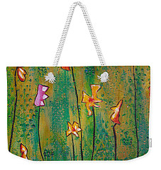 Fields Of Joy Re Mastered Weekender Tote Bag