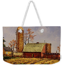 Fields Ready For Fall Weekender Tote Bag