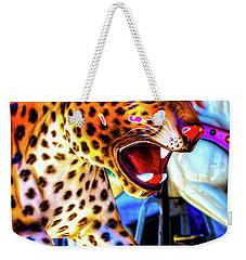 Fierce Cheetah Weekender Tote Bag